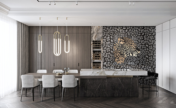 传世奢华,奢侈金属与大理石演绎家居艺术|米洛西·新奢主义系列2018新品