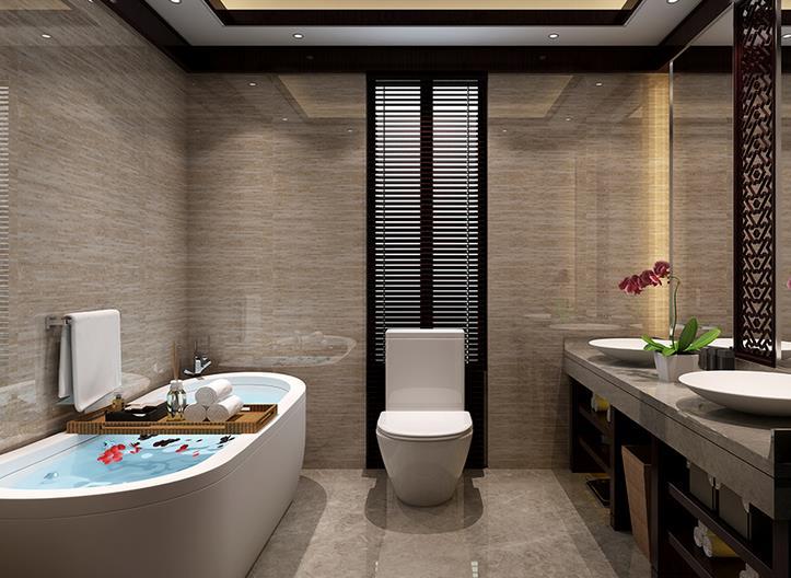 中式卫浴间