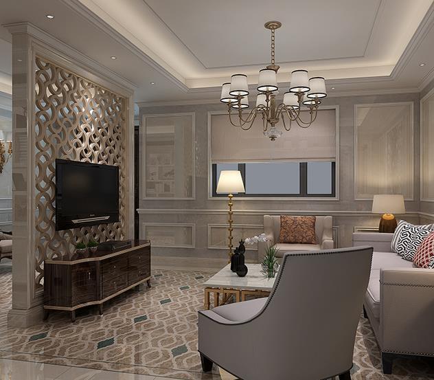 新古典圣卡罗客厅