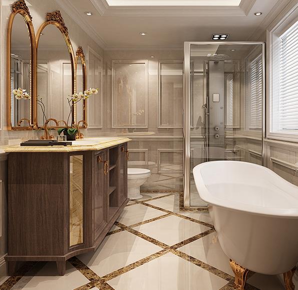 欧式卫浴间
