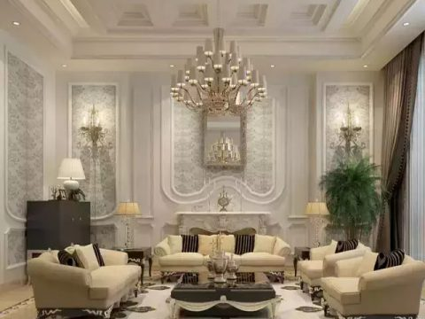 5款精工大理石装饰的白色空间,高贵典雅, 美丽不可方物!