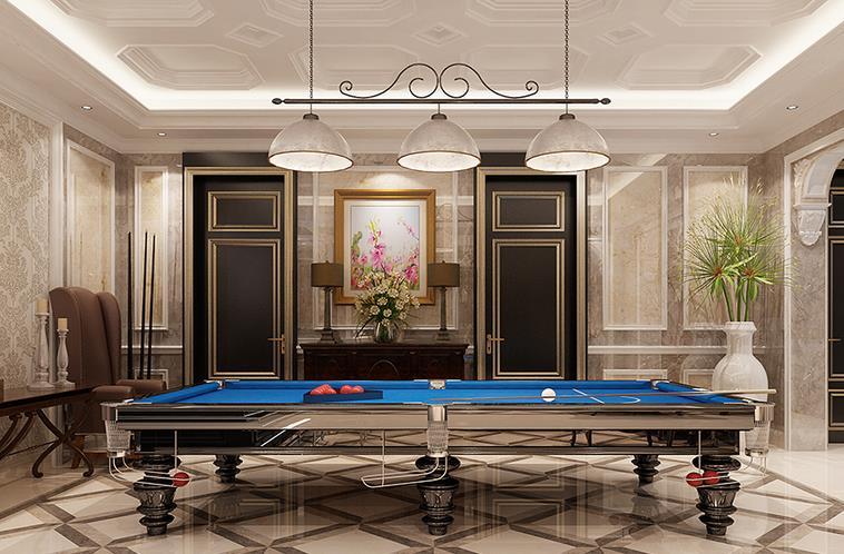法式台球室