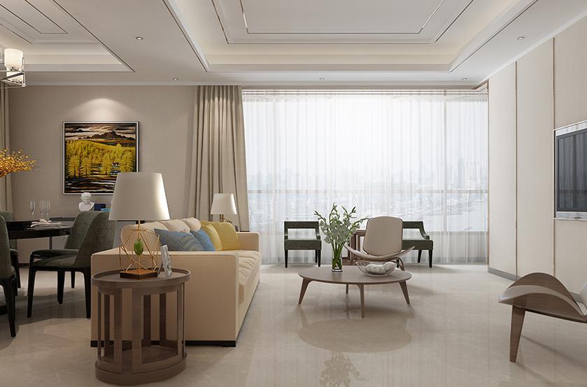 现代客厅-米洛西浅灰