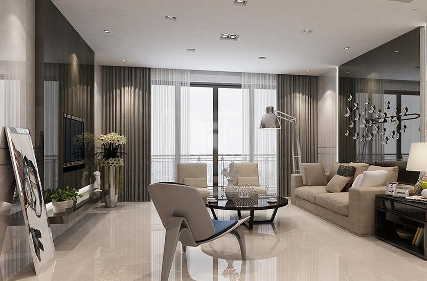 现代客厅-米洛西浅灰3