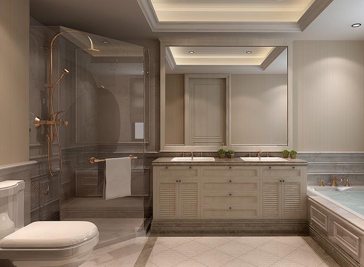 美式卫浴间