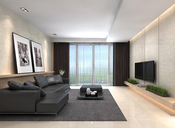 现代客厅-米洛西米黄
