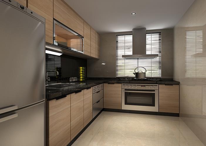 现代厨房-米洛西浅灰