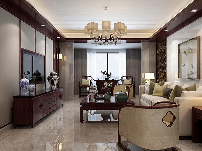 中式客厅78802