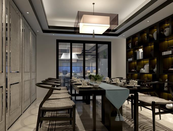中式餐厅-江崖海水