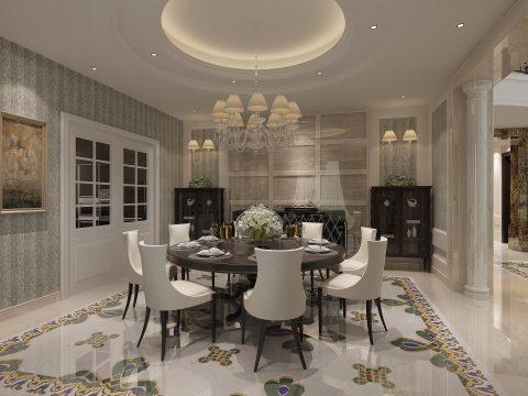 590平米钻石墅,顶级精工大理石奢宅的极致演绎!