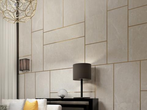 品质与美感兼具,灰色面板造就墙面百变视觉艺术!