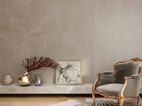 米黄色墙面装饰攻略,用经典色大理石搭出时髦空间!