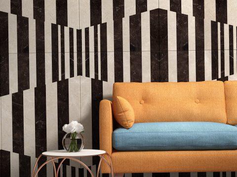这几面大理石背景墙大玩冲突美学,让你家倍添艺术气息!