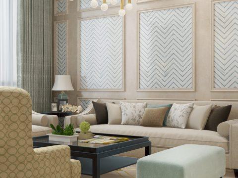 选对客厅墙面装饰材料,让你家美十倍!