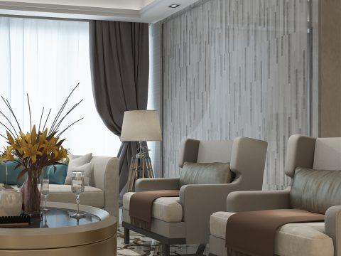欧式客厅装饰狂想,怎能少了米洛西精工大理石的墙面魔法?