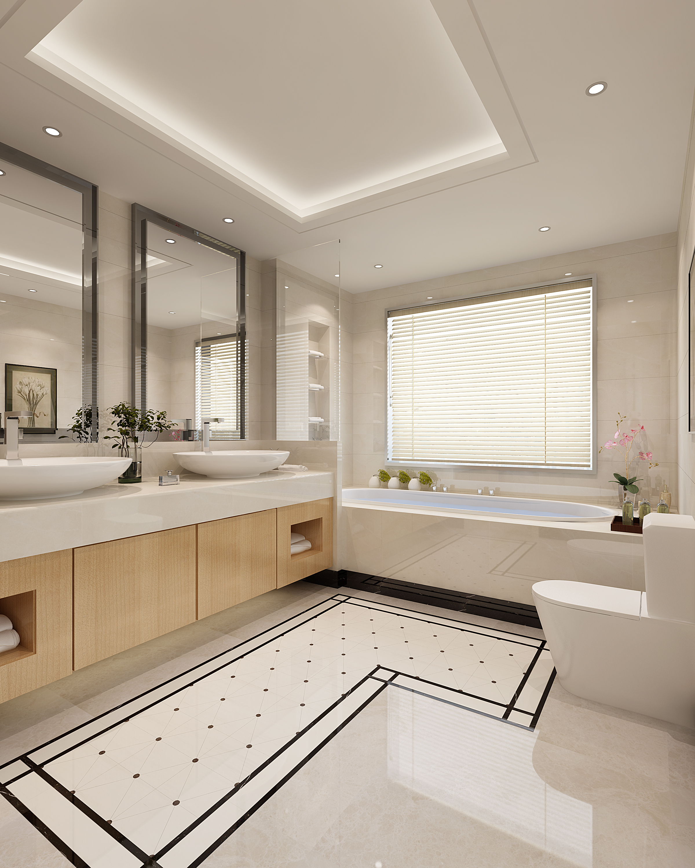 浴室-蒂芙尼
