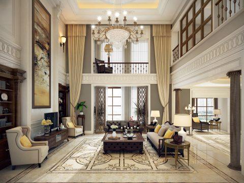 【爱石空间】四大风格精工大理石客厅,总有一款是你想要的!