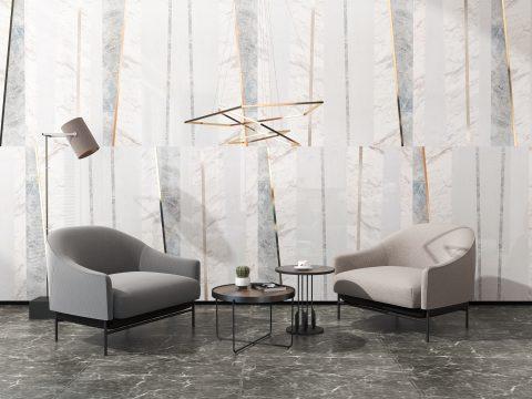 简洁考究,大理石竟曾如此时髦|米洛西·都市现代系列2018新品