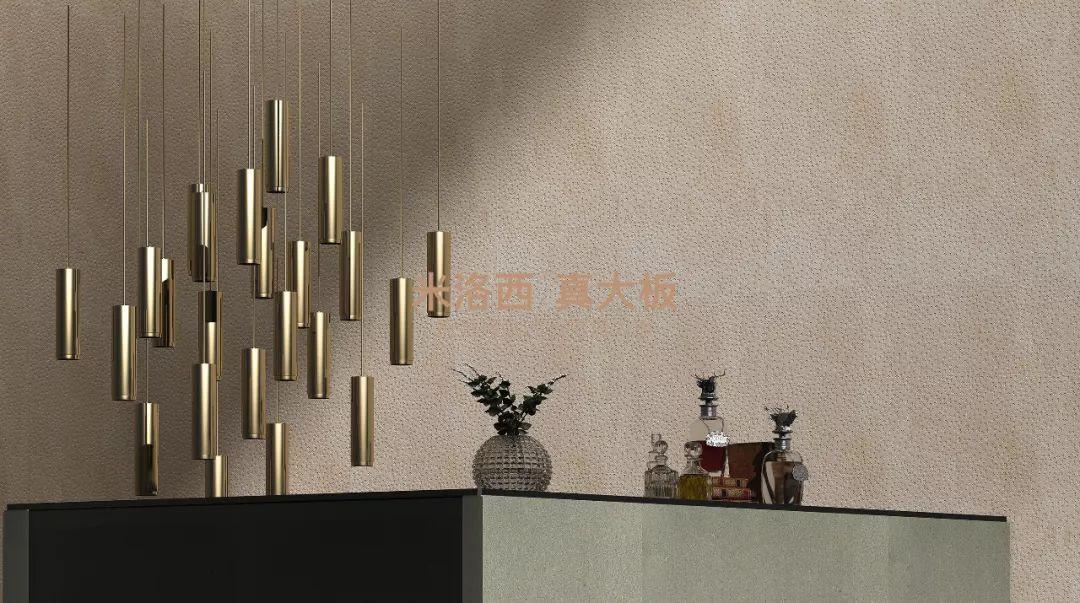 米洛西  创意与质感并存,15款全新肌理系列真大板背景墙美到极致