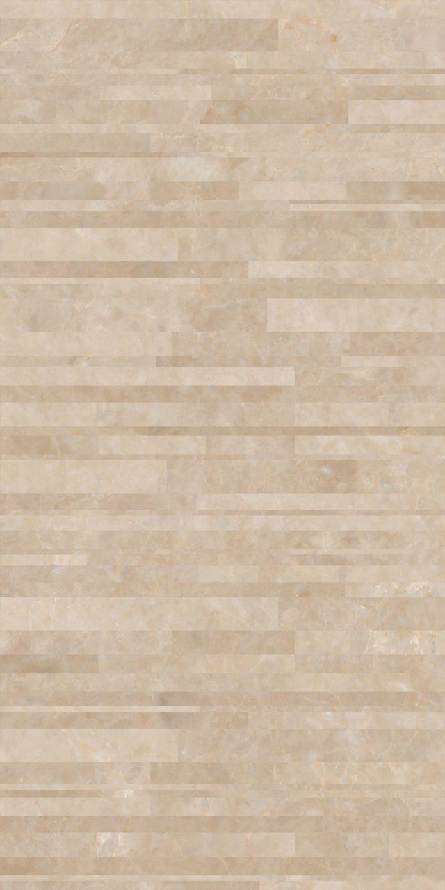 几何再生003-米洛西米黄 2400×1200
