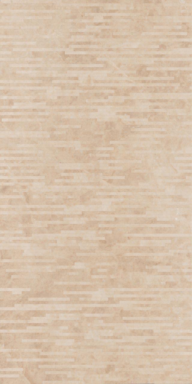 几何再生004-米洛西米黄 2400×1200